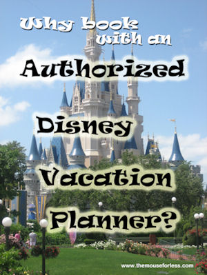 Disney Travel Agents Authorized Disney Vacation Planner Benefits