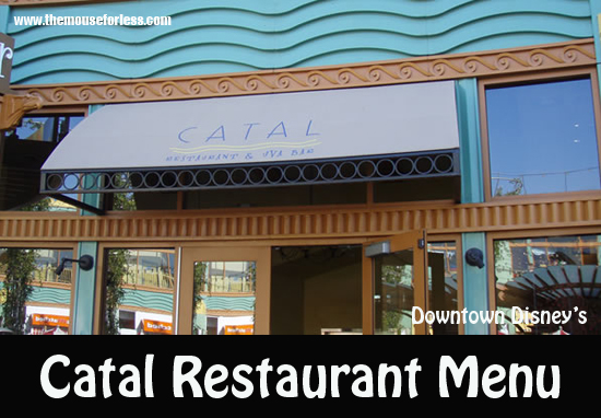 Catal Restaurant Menu