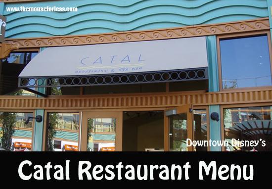 Catal Restaurant Menu