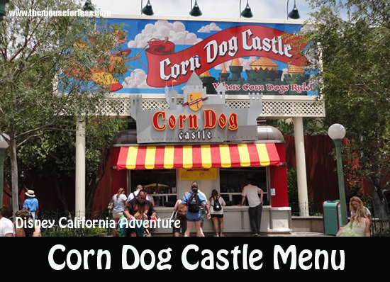 Corn Dog Castle Menu