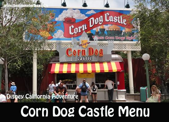 Corn Dog Castle Menu
