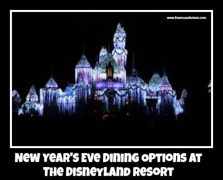 New Year's Eve at Disneyland