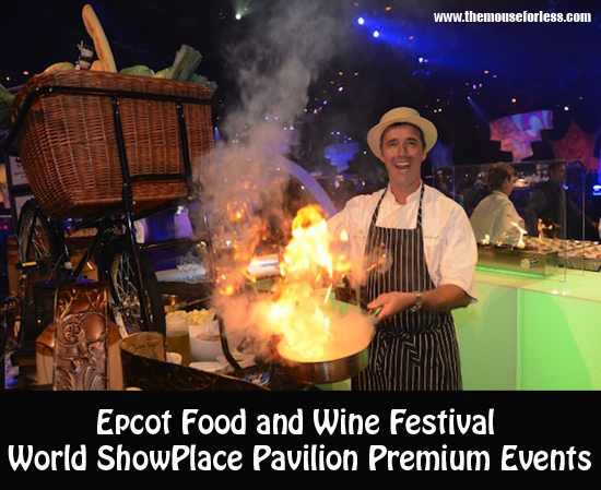 Epcot Food and Wine Festival - Party for the Senses