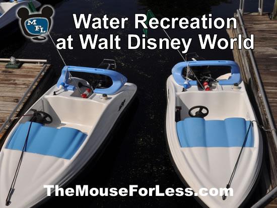 Walt Disney World Resorts Water Recreation from themouseforless.com #DisneyWorld #Vacation