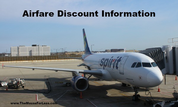 Airfare Discount Information