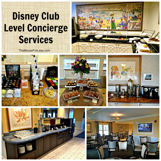 Disney Club Level Concierge Services Walt Disney World