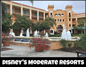 Walt Disney World Moderate Resorts