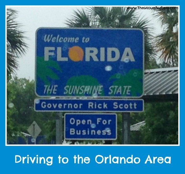 Driving to Orlando