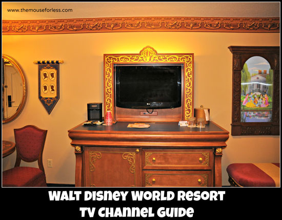 Walt Disney World TV Listings Channel Guide television