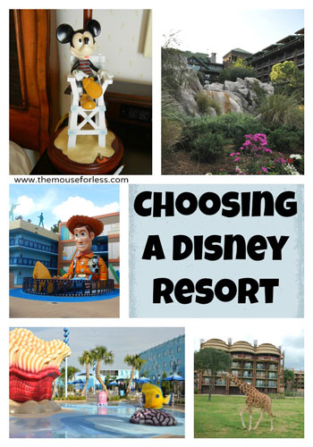 Tips on Choosing a Disney Resort
