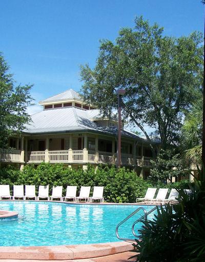 Pool at Port Orleans Resort