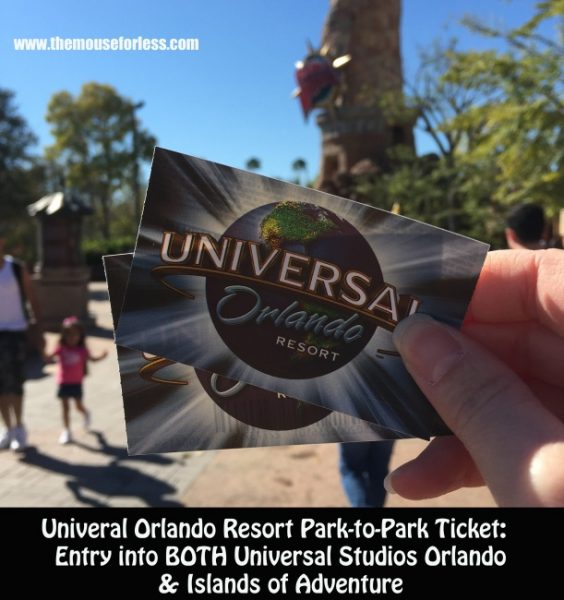 Universal Orlando Resort Park-to-Park Ticket