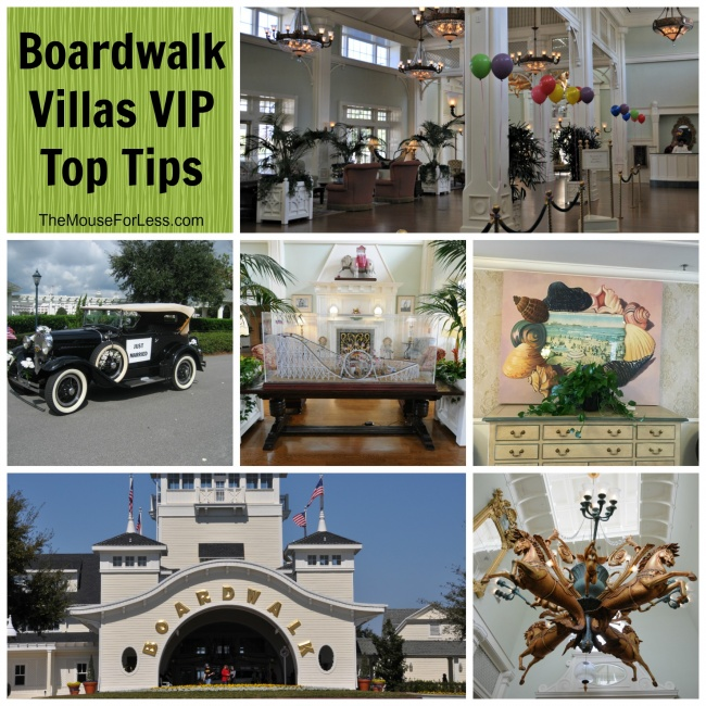 Boardwalk Villas Top Tips