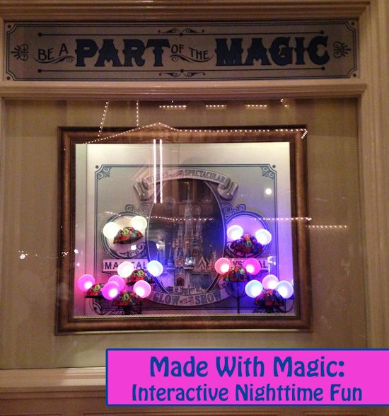 Made with Magic Interactive Nighttime Show Fun at Walt Disney World and Disneyland
