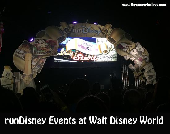 runDisney Events at Walt Disney World