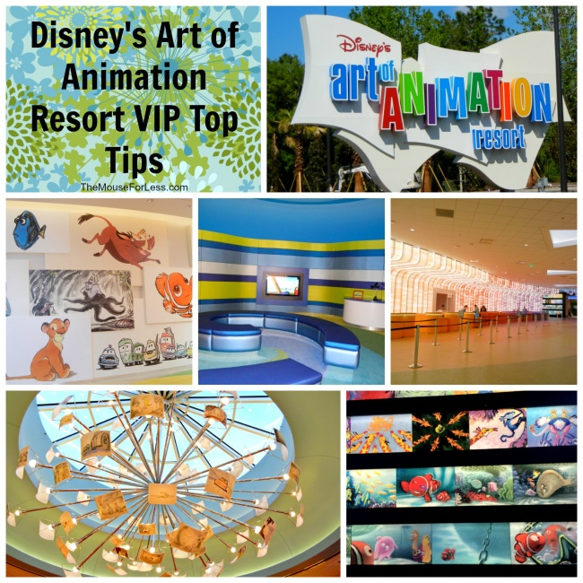 Disney's Art of Animation Resort VIP Tips