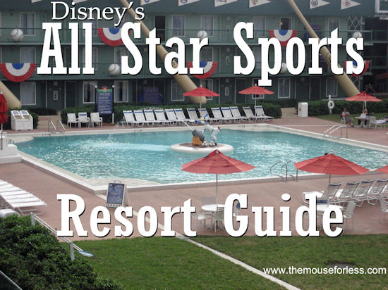 Disney's All Star Sports Resort Guide from themouseforless.com #DisneyWorld #Vacation