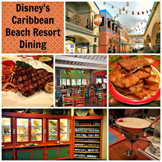 Disneys Caribbean Beach Resort Dining
