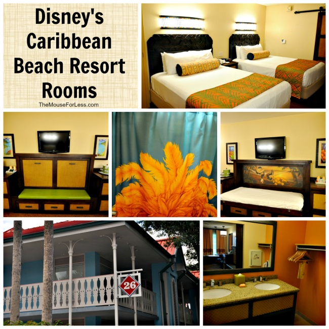 Disneys Caribbean Beach Resort Rooms