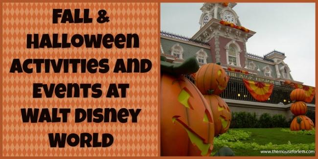 Halloween 1 November.2019 Fall Halloween Activities And Events At Walt Disney World