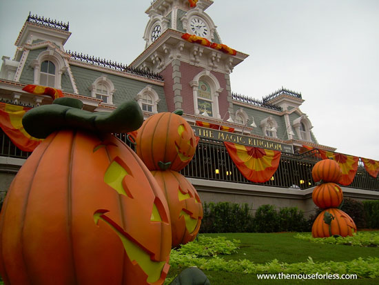 Halloween and Fall activities at Walt Disney World