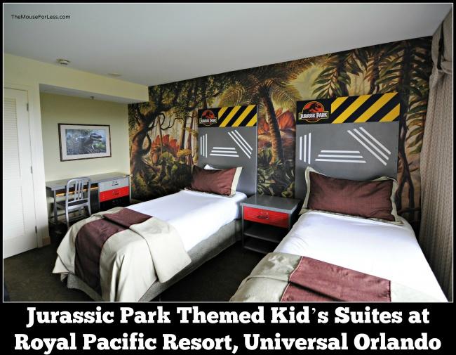 Jurassic Park rooms