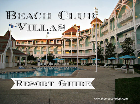 Disney 39 S Beach Club Villas Guide Walt Disney World