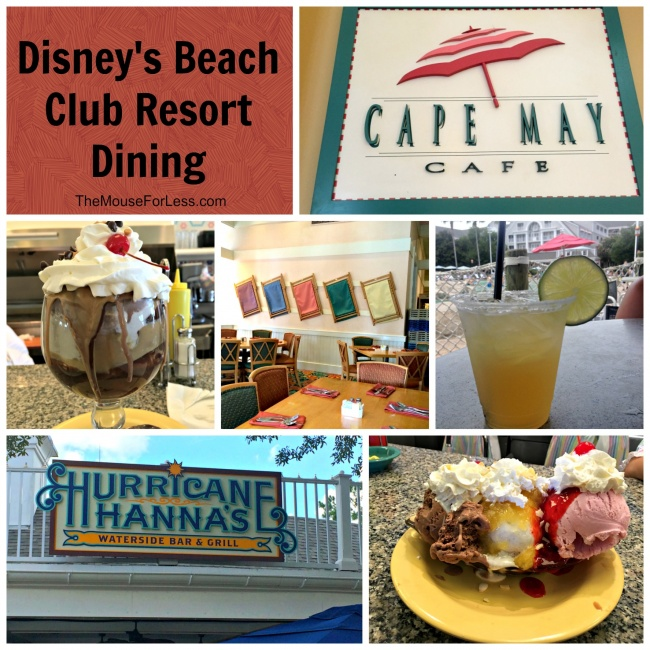 Disney S Beach Club Resort Dining Cape May Café Is A Table Service Buffet Style Restaurant Which Hosts Character Breakfast In The Morning And Clam Bake