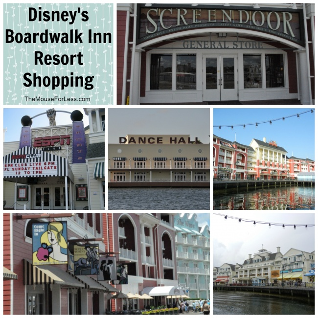 Boardwalk Inn Collage