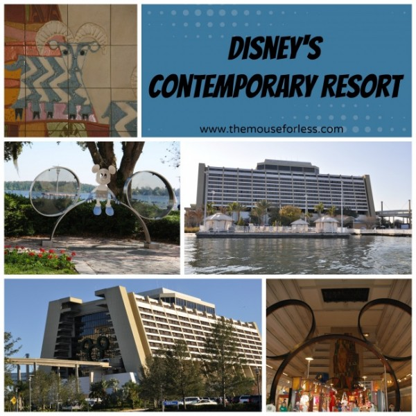 Disney 39 S Contemporary Resort Guide Walt Disney World