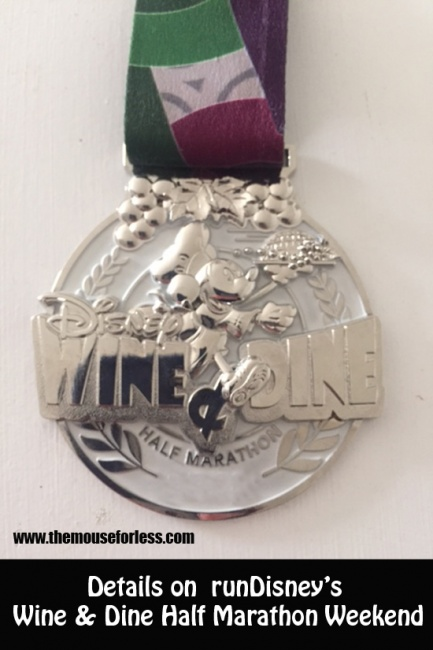 Details on runDisney's Wine & Dine Half Marathon Weekend
