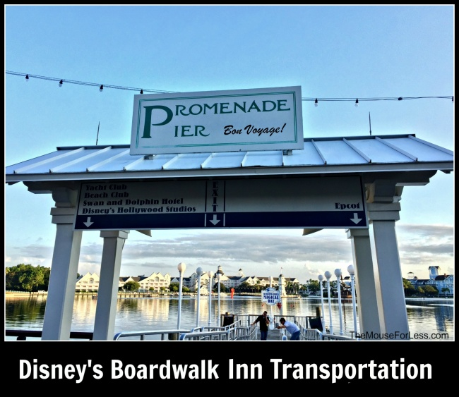 Disney's Boardwalk Inn Transportation