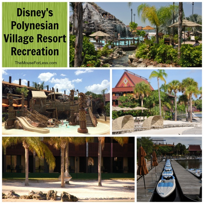 Disney's Polynesian Village Recreation