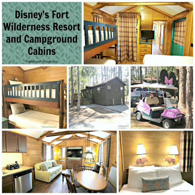 Disneyu0027s Fort Wilderness Resort And Campground Has 409 Cabins And 784  Campsites.