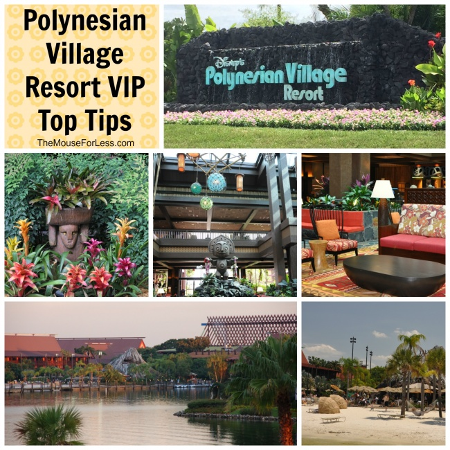 Polynesian Resort VIP top tips