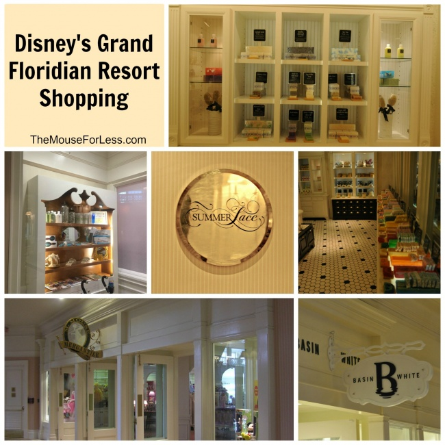 Disney's Grand Floridian Resort and Spa Shopping