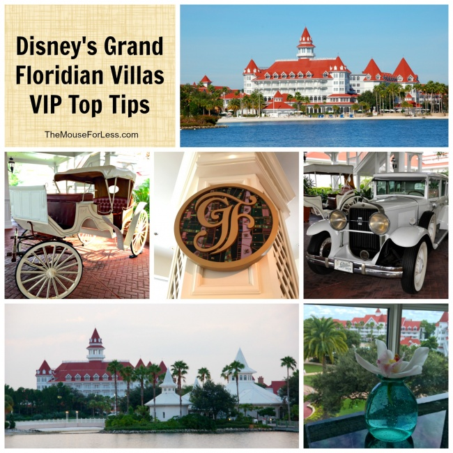 Disney's Grand Floridian Villas Top Tips