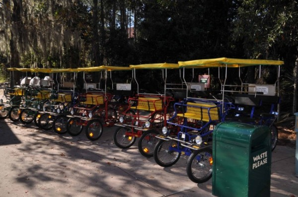 Wilderness Lodge Top Ten Tips Bike Rental