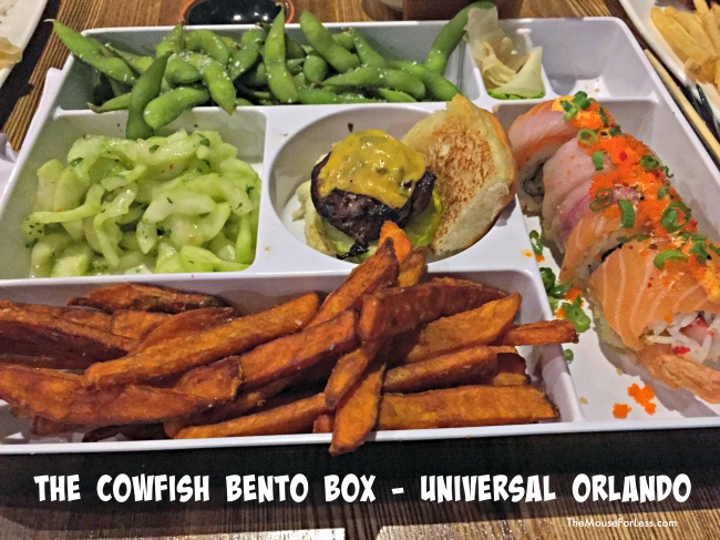 The Cowfish Menu bento box