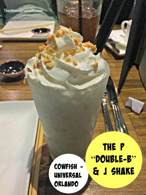 The Cowfish Menu shake