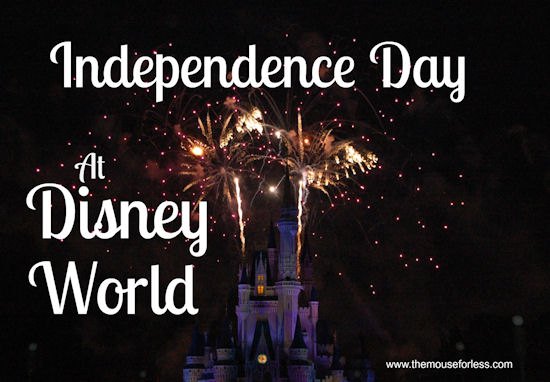 Independence Day at Walt Disney World Guide from themouseforless.com #DisneyWorld #July4th