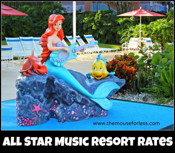 All Star Music Resort Rates