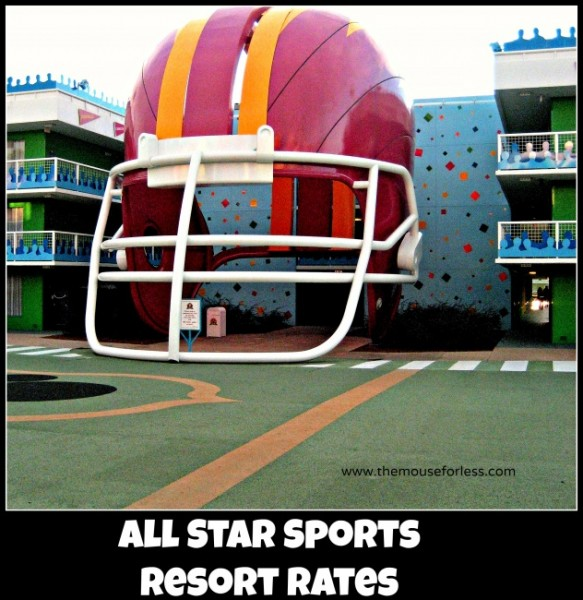 All Star Sports Resort Rates