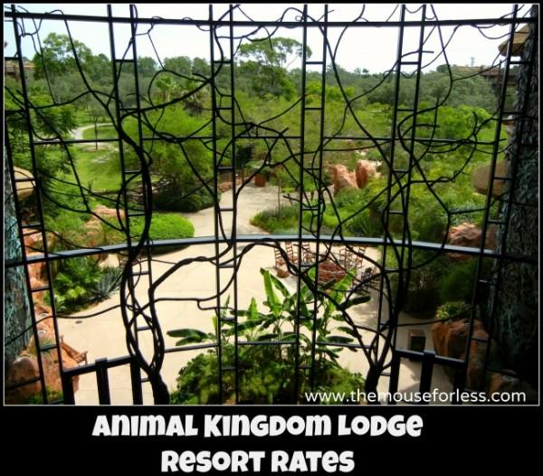 Animal Kingdom Lodge Rates