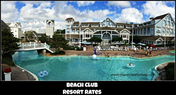 Beach Club Resort Rates