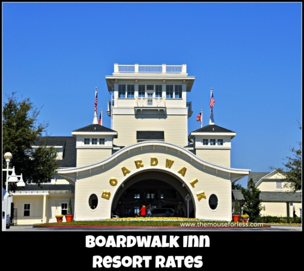 Boardwalk Inn Rates