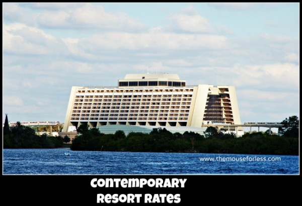 Contemporary Resort Rates
