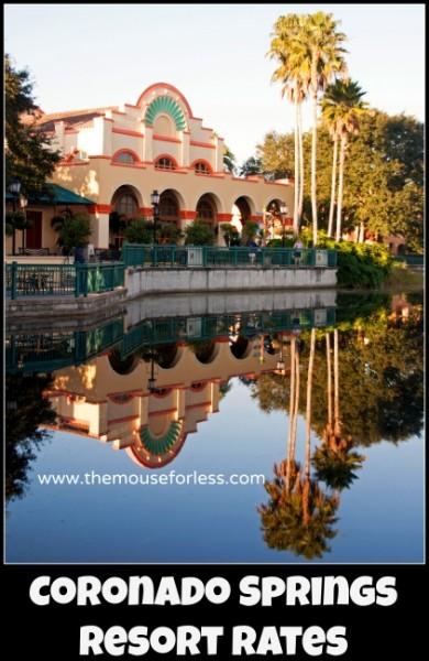 Coronado Springs Resort Rates