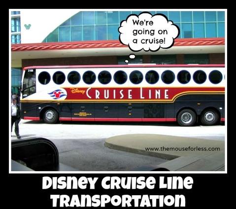 Disney Cruise Line Transportation Options