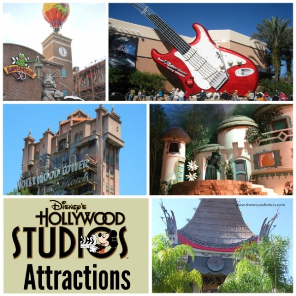 disney Hollywood attractions & shows